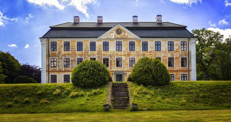 Vieux manoir de château de Christinehof Suède photos stock