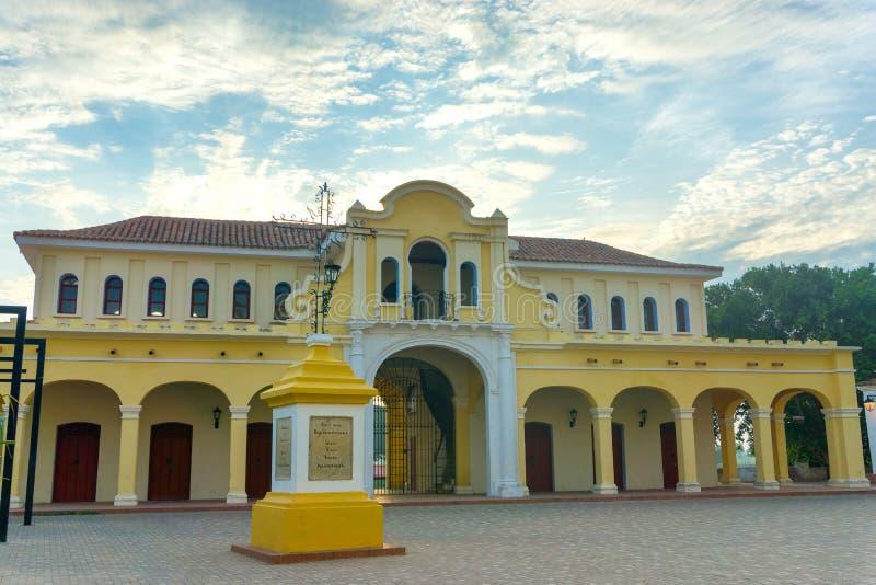 Download Vieux Marché Dans Mompox, Colombie Image stock - Image du façade, cityscape: 77152971