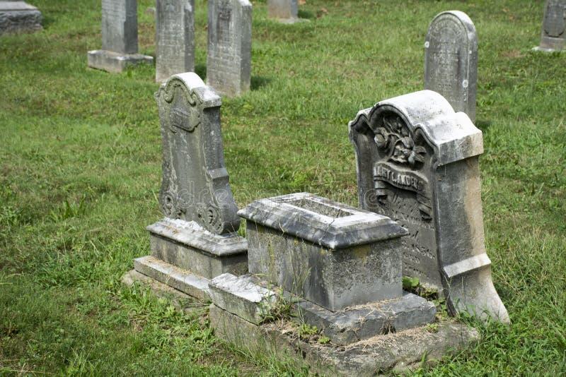 Vieux marqueurs en pierre images libres de droits