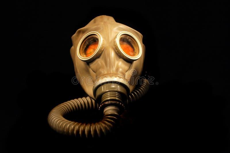 Vieux masque de gaz images libres de droits