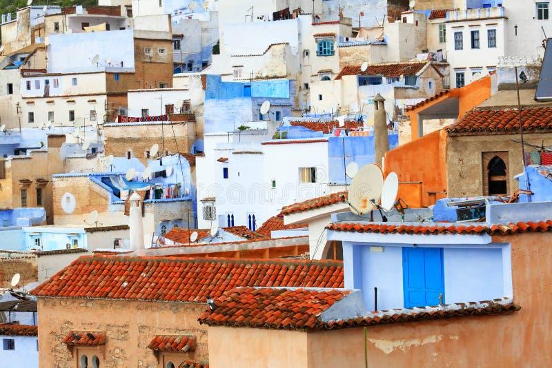 Vieux Medina de Chefchaouen photos stock