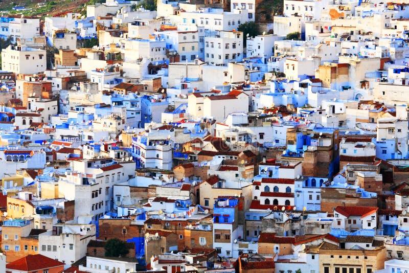 Vieux Medina de Chefchaouen images libres de droits
