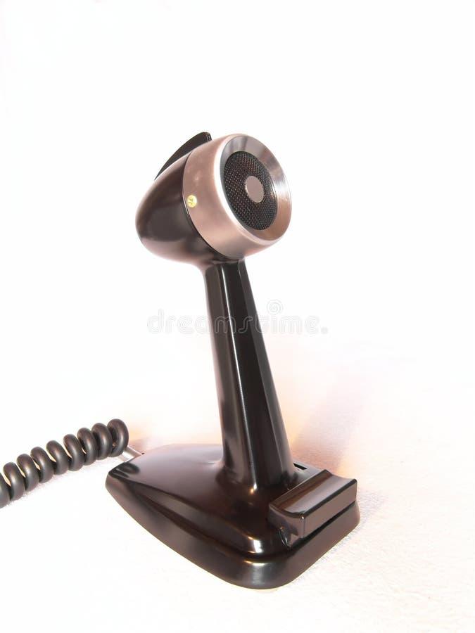 Vieux microphone photographie stock libre de droits