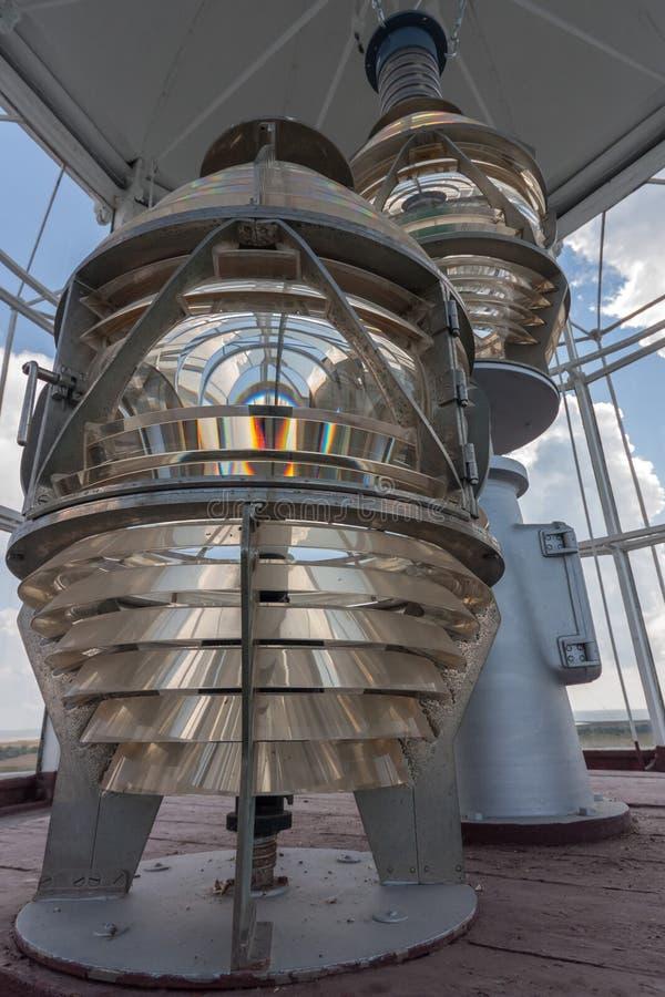 Vieux miroirs de phare image stock