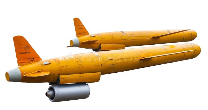 Vieux missiles de croisière photographie stock libre de droits