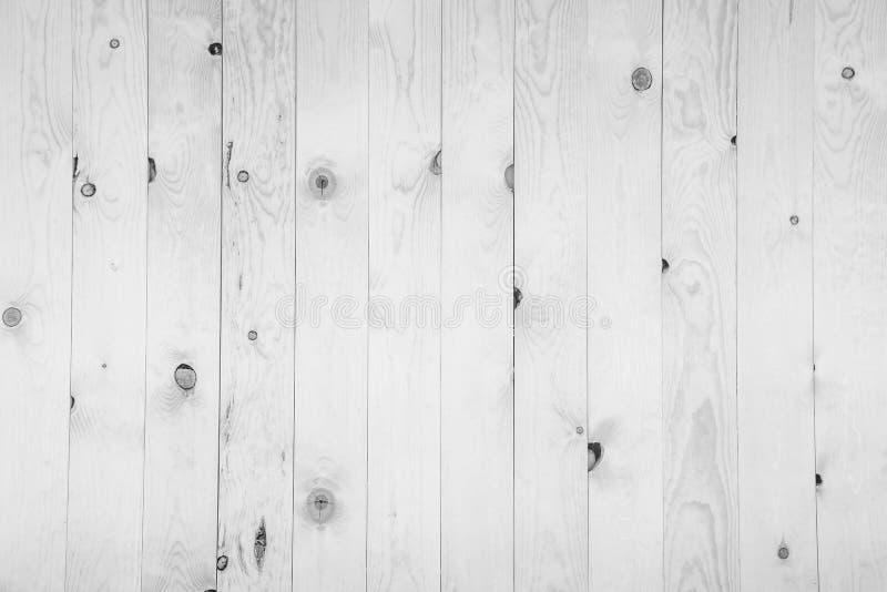Vieux modèle en bois blanc grunge de panneau photo libre de droits