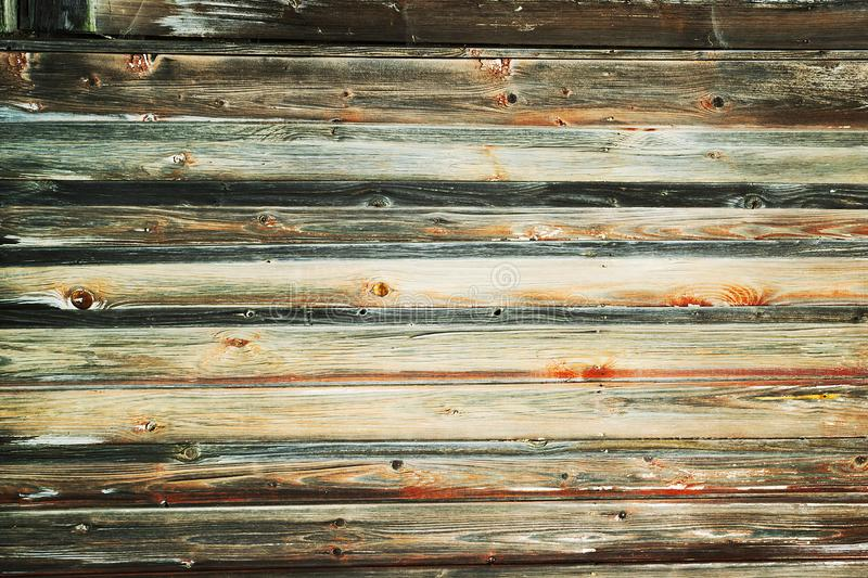 Vieux modèle en bois grunge de texture de fond de planches image libre de droits