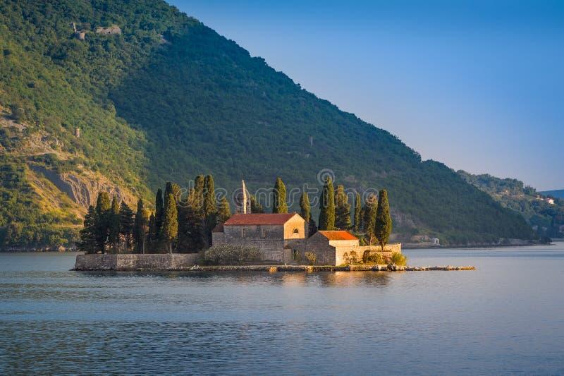 Vieux monastère sur l'île de St George images libres de droits