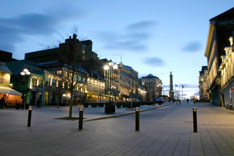 Vieux Montréal photographie stock