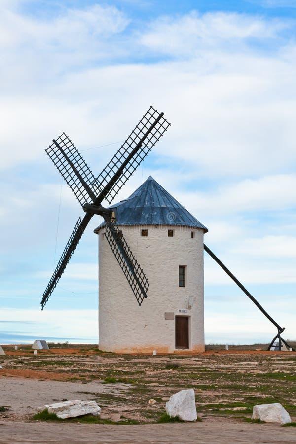 Vieux moulin à vent espagnol photo libre de droits