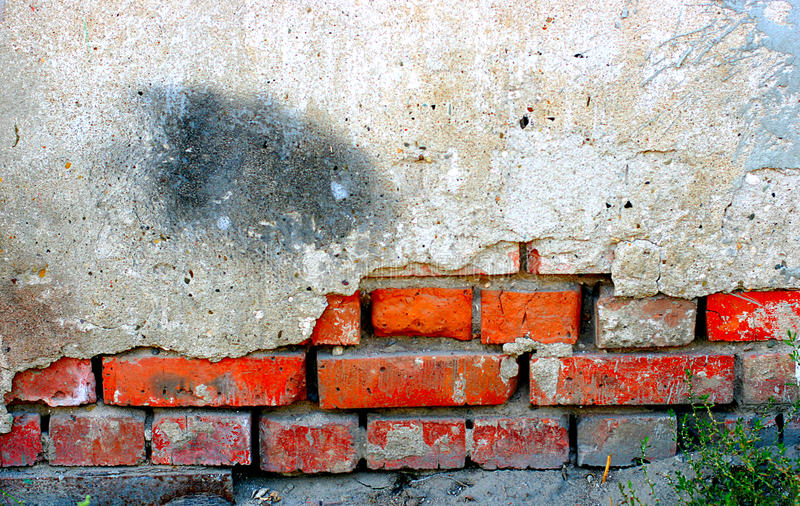 Vieux mur photographie stock