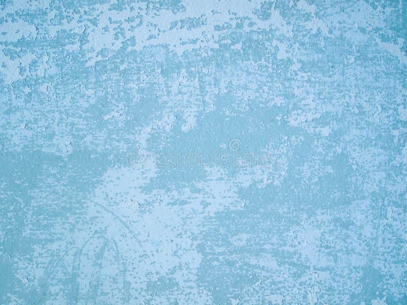 Vieux mur bleu-clair photos stock