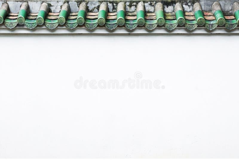 Vieux mur chinois de bâtiment photographie stock