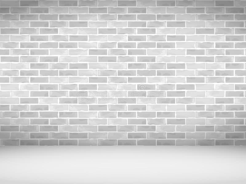 Vieux mur de briques illustration stock