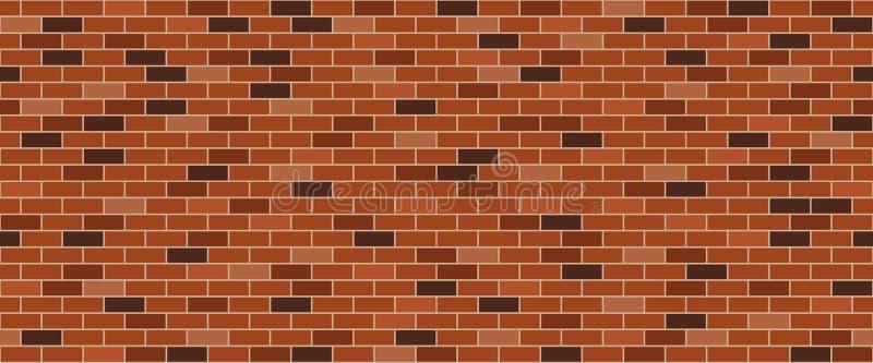 Vieux mur de briques illustration de vecteur