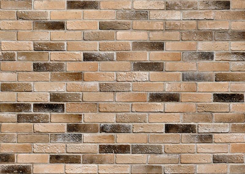 Vieux mur de briques Briques modifi?es Fond grunge de mur de briques image libre de droits