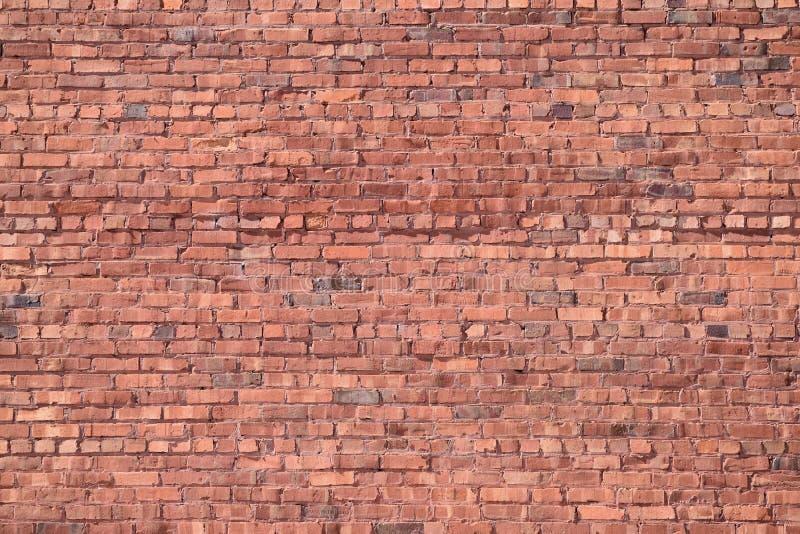 Vieux mur de briques rouge photo stock