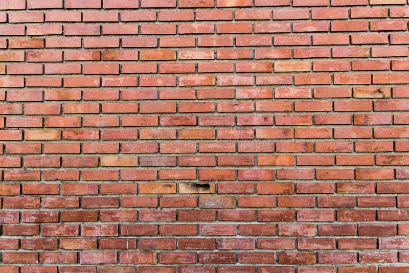 Vieux mur de briques rouge image libre de droits
