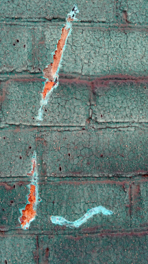 Vieux mur de colorfull image stock
