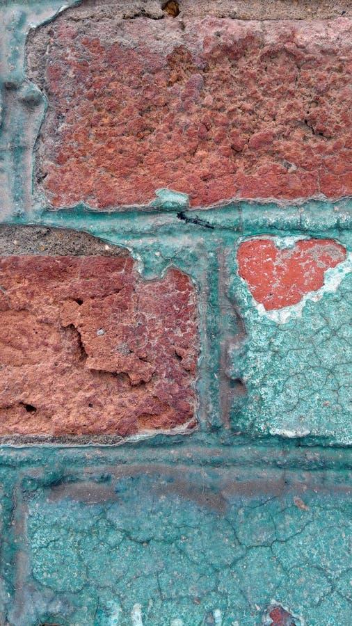 Vieux mur de colorfull images stock