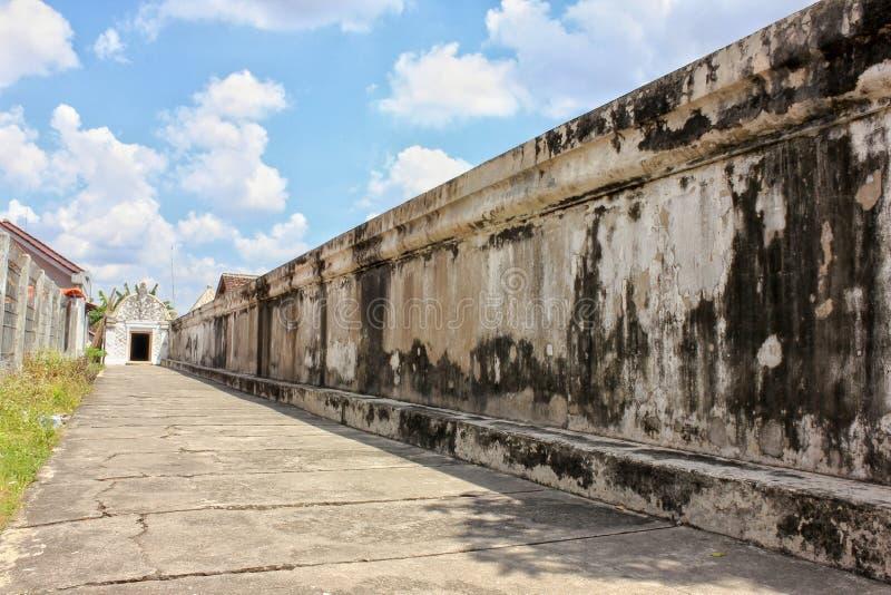 Vieux mur de Tamansari image libre de droits