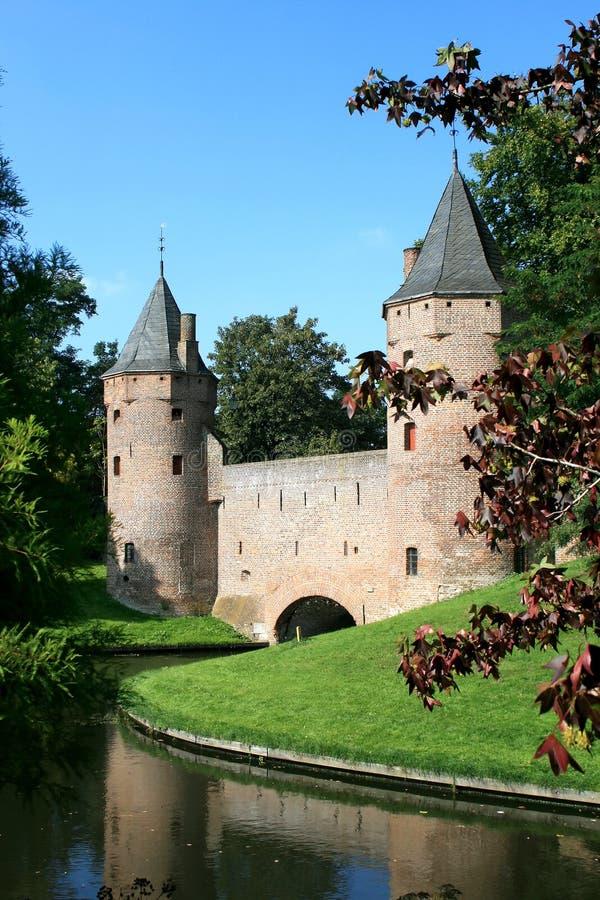 Vieux mur de ville à Amersfoort photos stock