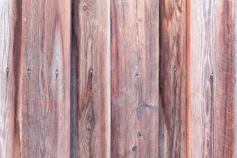 Vieux mur en bois comme texture ou fond naturelle Copiez l'espace Vieille frontière de sécurité en bois Style campagnard photographie stock libre de droits