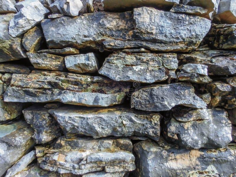 Vieux mur en pierre image libre de droits