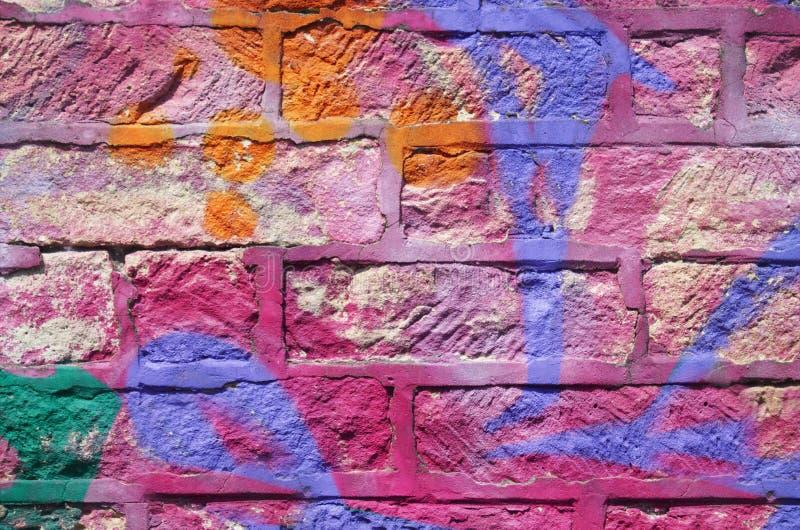 Vieux mur en pierre coloré multi photo libre de droits