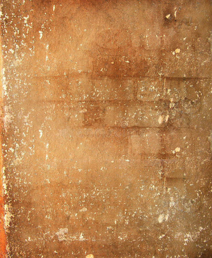 Vieux mur minable illustration libre de droits