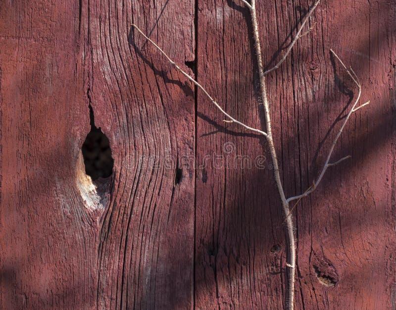Vieux mur rouge de grange photo libre de droits