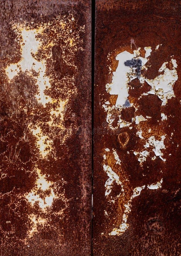 Vieux mur rouillé images stock