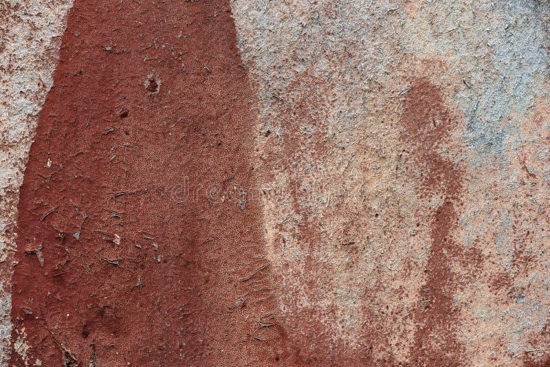 Vieux mur sale avec la texture endommag?e de fond de pl?tre images stock
