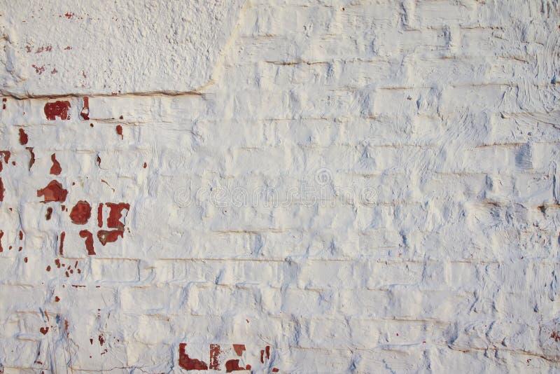 Vieux mur Texture âgée affligée de recouvrement Fond naturel grunge photographie stock