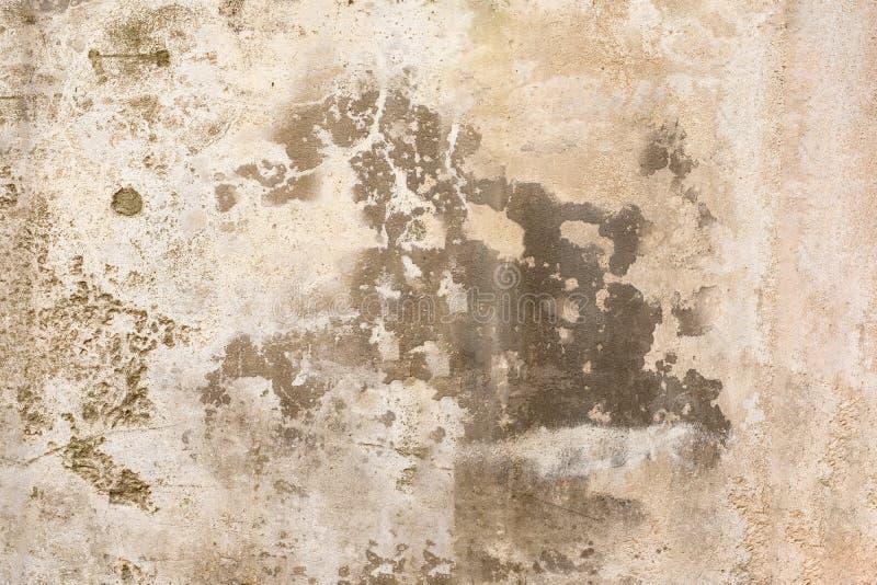 Vieux mur, texture en pierre rayée Fond modifié de cru Surface utilisée images stock