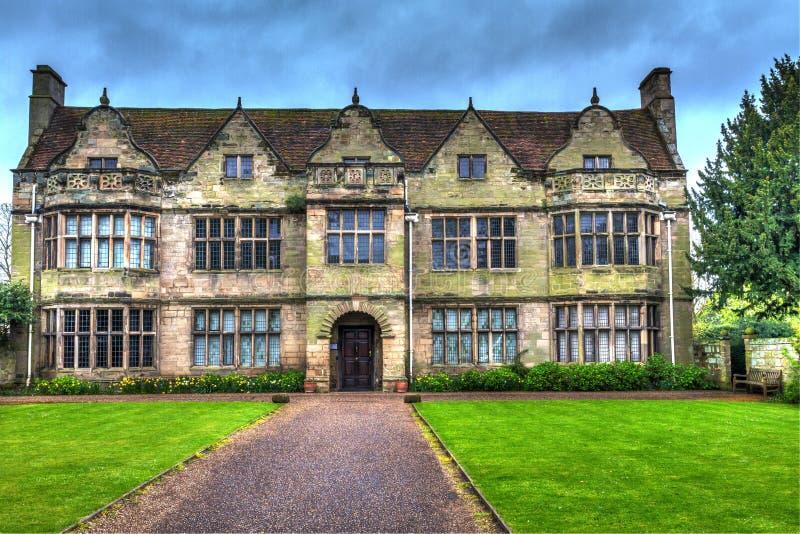 Vieux musée et école image libre de droits