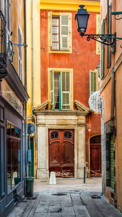 Vieux Nizza Francia fotografie stock libere da diritti