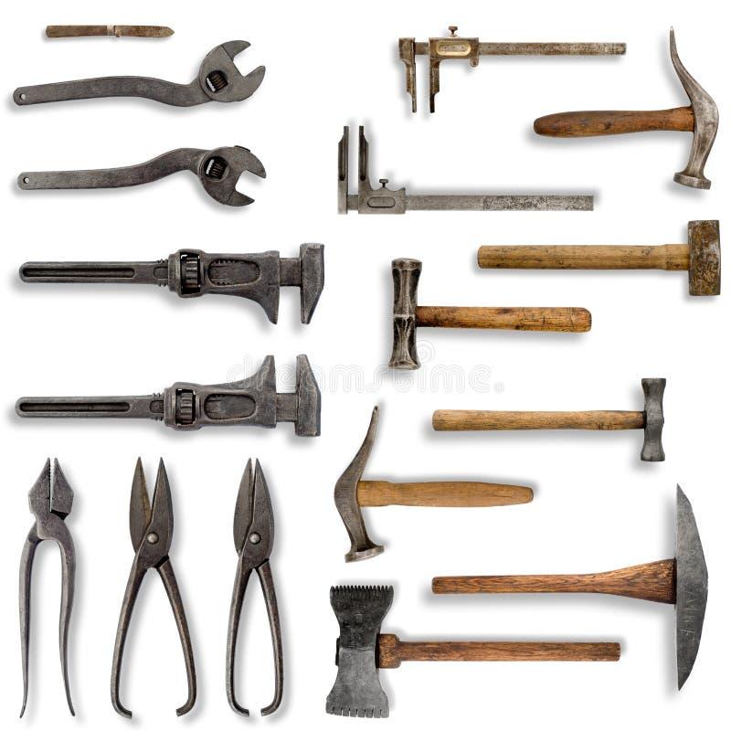 Vieux outils photo libre de droits