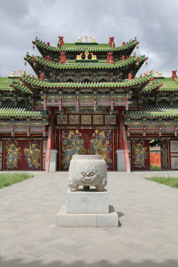 Vieux palais oriental photographie stock libre de droits