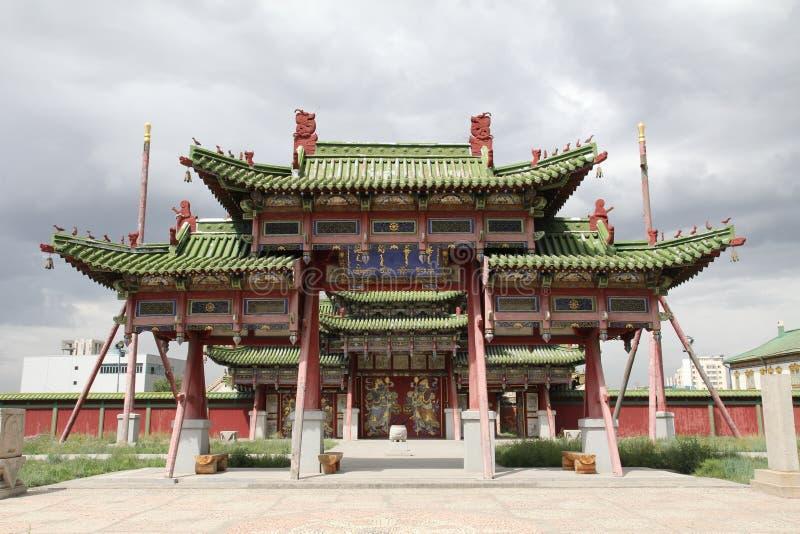 Vieux palais oriental image stock