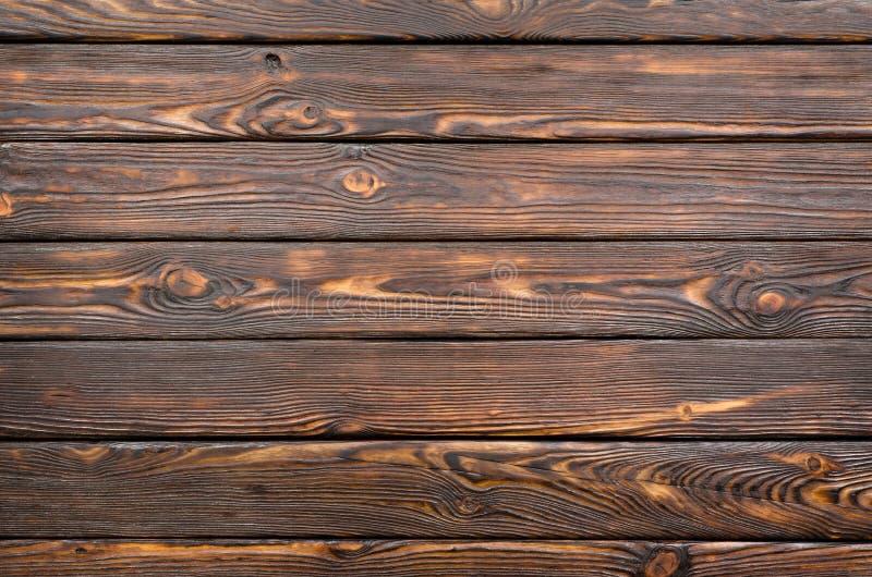 Vieux panneau en bois foncé photo stock