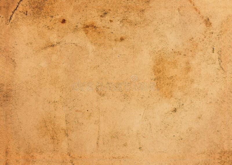 Vieux papier âgé par cru image stock
