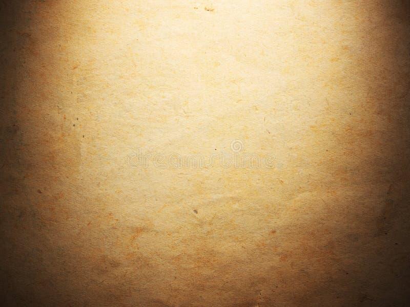 Vieux papier âgé par cru Fond ou texture initial image stock