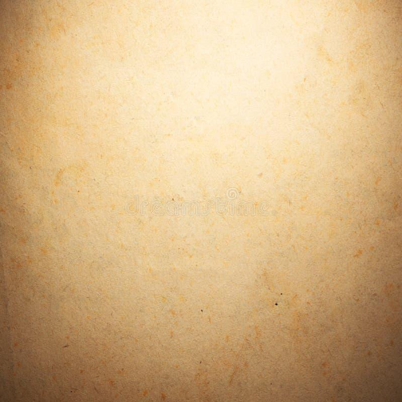 Vieux papier âgé par cru Fond ou texture initial photo libre de droits