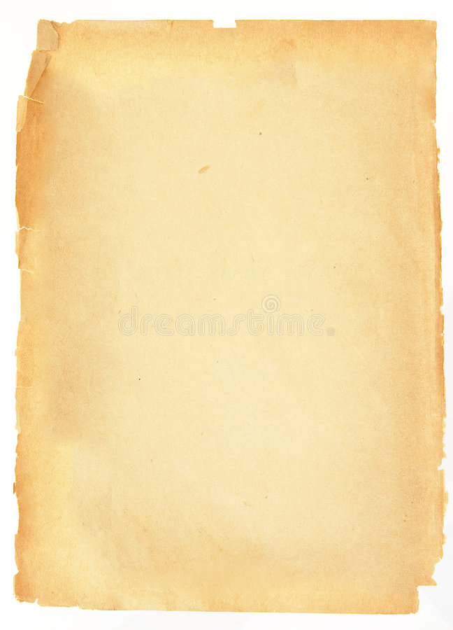 Vieux papier illustration stock