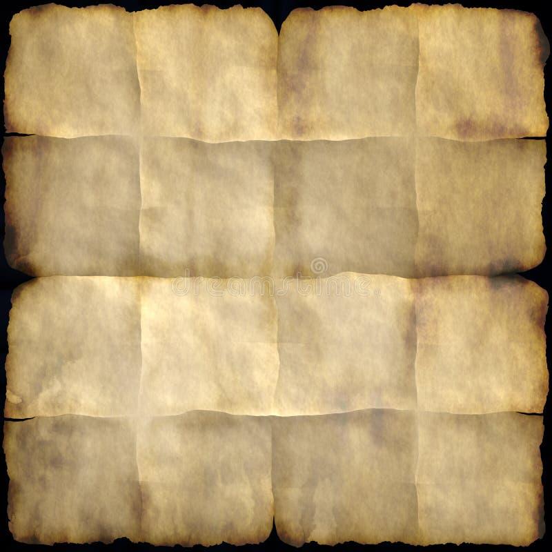 Vieux papier illustration libre de droits