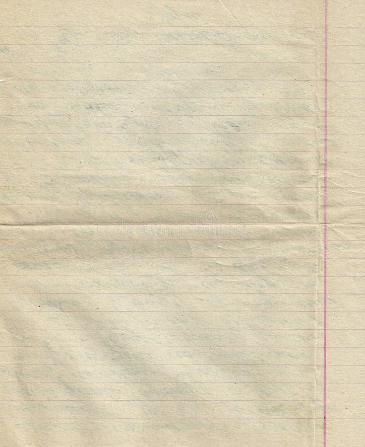 Vieux papier avec la ligne fond images libres de droits