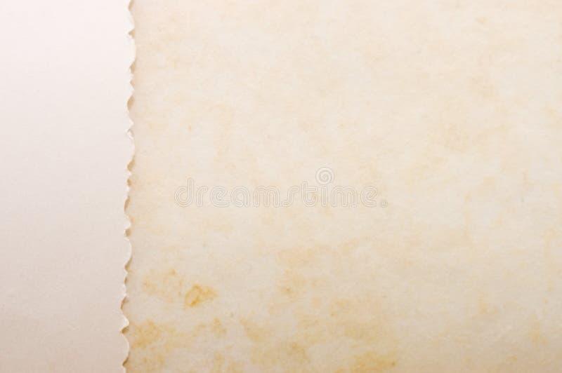 Vieux papier comme fond images libres de droits