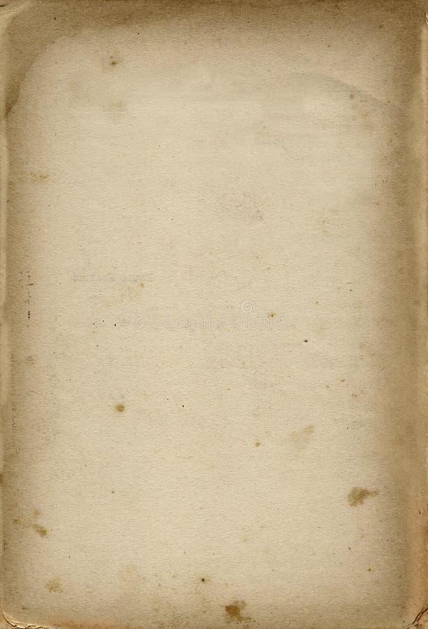 Vieux papier de carte postale photographie stock libre de droits