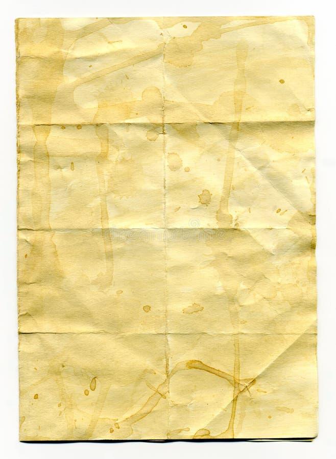 Vieux papier de cru